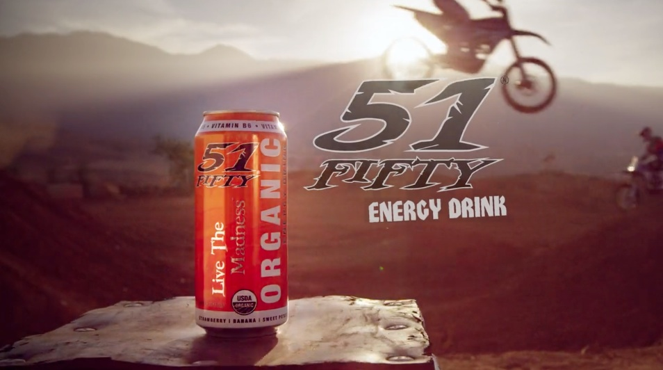 51 fifty energy drink blare media for Cocktail 51